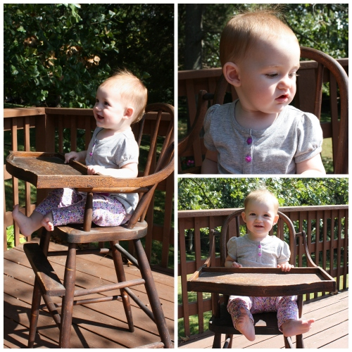 High Chair Collage